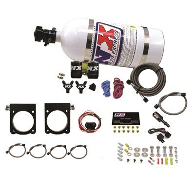 (Nitrous Express Gen-V Viper Nitrous Plate System (50-400Hp) W/ 10Lb Bottle 20970-10)