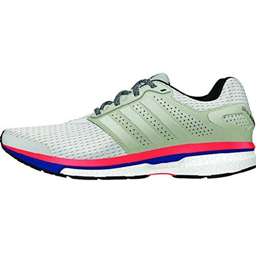 Adidas Supern Glid 7 - Kvinna Vit / Röd 10 | 10,5 | 11 | 6 | 6,5 | 7 | 7,5 | 8 | 8,5 | 9 | 9,5 Vit / Röd