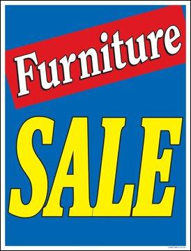 Amazon.com: Muebles venta ventana venta cartel carteles ...