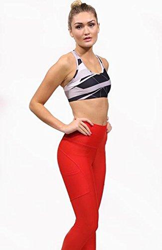 deportivo Activewear mujer Print Acai para Sujetador Black Nikki PnqdTTw