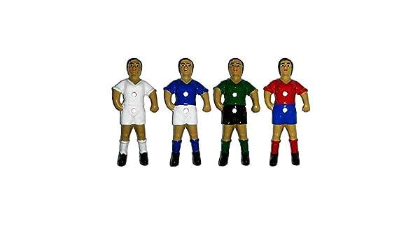 Duguespi Jugador muñeco futbolin Barra 13mm Portero Color Azul 1 ...