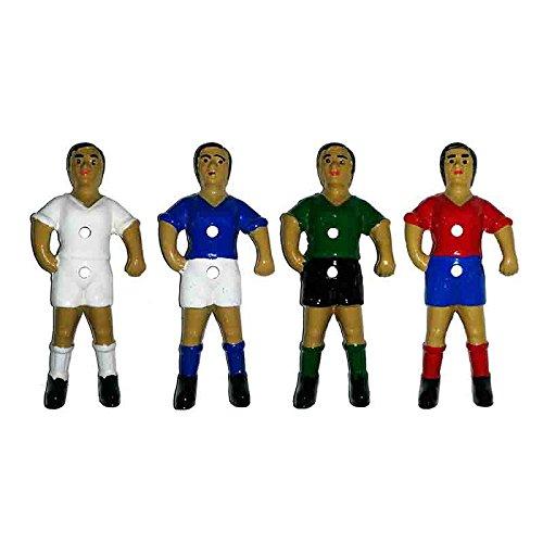 Duguespi Jugador muñeco futbolin Barra 13mm Color Blanco 1 unid ...