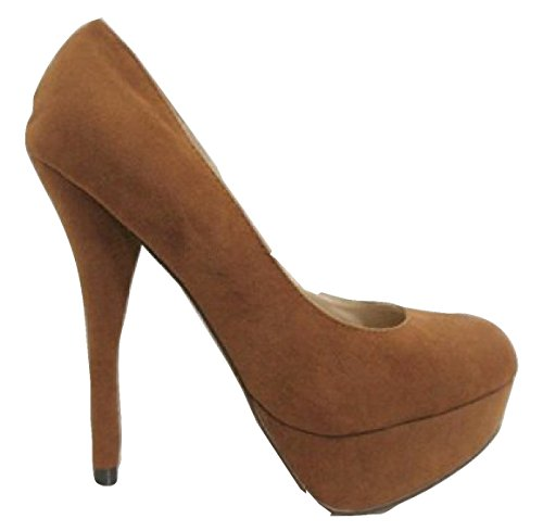 Damen Braun chix 40 7 Pumps UK Hellbraun dwOEq6rO