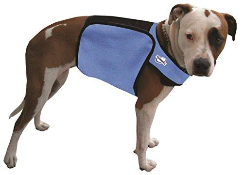TechKewl Phase Change Cooling Dog Coat, Large/X-Large, Khaki by TechKewl