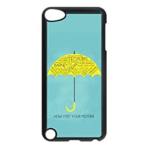 iPod 5 Case,How I Met Your Mother Hard Snap-On Cover Case for iPod Touch 5, 5G (5th Generation)