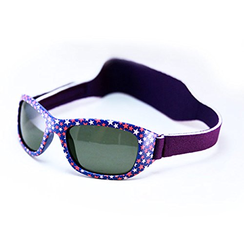 Mola Mola Polarized Baby Sunglasses with strap Purple 1-3 - Months Baby 24 Sunglasses 12