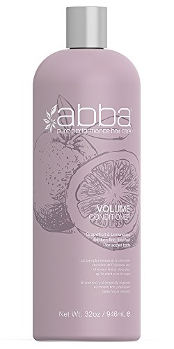 Abba Moisture - ABBA Volume Conditioner, Grapefruit, 32 Fl. oz.