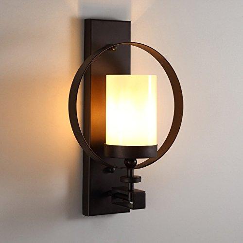 Ehime Wandleuchte aus Eisen retro Wohnzimmer Wanddekoration Lampe single Head kreative Persönlichkeit Flur Balkon off road Lights keine optische Quelle