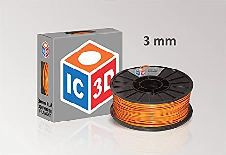 Filamento de impresora 3D IC3D de 3 mm PLA. Precisión dimensional ...