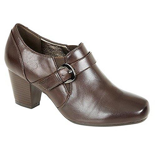 ville Marron de talon Boulevard à Chaussures Femme 07x4FHq