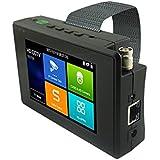 Precamview 4 Inch H.265 4K 5 In 1 HD IP CCTV Tester Monitor CVBS CVI TVI AHD Tester 8MP 5MP WIFI ONVIF POE 12V Output