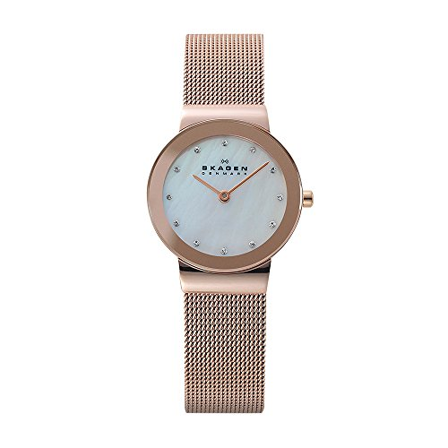 - Skagen Women's Ancher Quartz Stainless Steel Dress Watch, Color: Rose Gold-Tone (Model: 358SRRD)