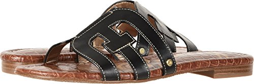 Sam Edelman Women's Bay Black Vaquero Saddle Leather 10 W US