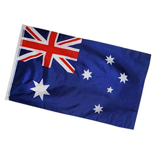 La Bandera Nacional De Australia Australiano Ocean¨ªa Gran Pancarta 150 * 90cm / 5 * 3 Pies