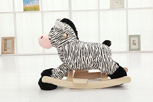 Zebra Rocking Animal - 4