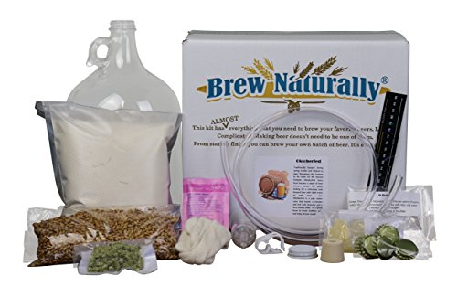 Brew Naturally Oktoberfest Homebrew Starter Kit | The Ultimate 1-Gallon DIY Home Brewing Pack | Set Includes Equipment & Ingredients with Easy-To-Follow Recipe for Making Your Own Craft Beer