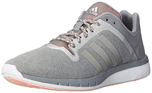Adidas Performance Cc de campo fresca 2 W zapatillas de running, Flash Naranja / flash Naranja / Nar Grey/Metallic/Silver/Light Flash Orange