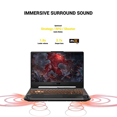 "ASUS TUF VR Ready Gaming Laptop, 15.6"" IPS FHD, AMD Ryzen 7 4800H Octa-Core up to 4.20 GHz, NVIDIA RTX 2060, 8GB RAM, 512GB SSD+1TB HDD, RGB Backlit KB, RJ-45 Ethernet, Mytrix Sleeve, Win 10"