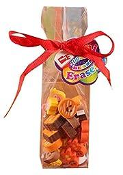 Set Of 2 Coffee Eraser Children\'s Gift Prizes Stationery Gift Eraser