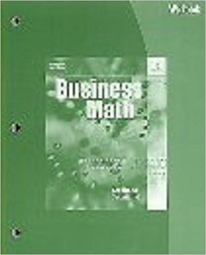 Workbook for schultheiskaczmarskis business math 16th robert workbook for schultheiskaczmarskis business math 16th 16th edition fandeluxe Choice Image
