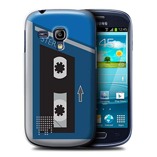 samsung s3 mini case retro blue - 4