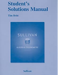 Algebra and trigonometry 9th edition michael sullivan student solutions manual for algebra and trigonometry fandeluxe Images