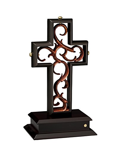 Unity Cross Rubbed Bronze and Copper Leaf]()