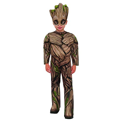 Onceuponasale 3T-4T Guardians of The Galaxy Deluxe Baby Groot Costume Halloween Dress Up