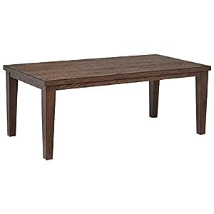 "Amazon Brand – Stone & Beam Dunbar Wood Dining Room Kitchen Table, 78""L, Oak Finish"