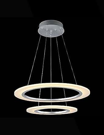 MLA Metal - Lámparas Colgantes - Cristal/LED -Moderno / , cool white-110-120v