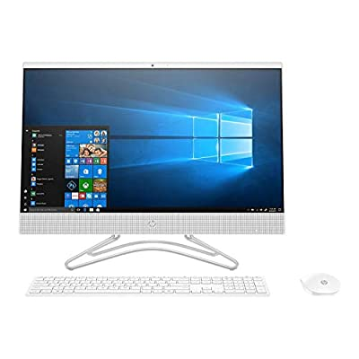 "2019 HP 23.8"" FHD All in One Desktop Computer, 8th Gen Intel Core i3-8130U up to 3.40GHz (Beat i5-7200U), 8GB DDR4 RAM, 1TB 7200 rpm HDD, DVDRW, 802.11ac WIFI, Bluetooth 4.2, USB 3.1, HDMI, Windows 10"