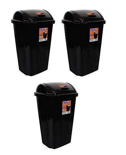 BLOSSOMZ Hefty Swing-Lid 13.5-Gallon Trash Can  )