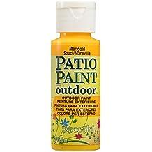 DecoArt Patio Paint 2-Ounce Marigold Acrylic Paint