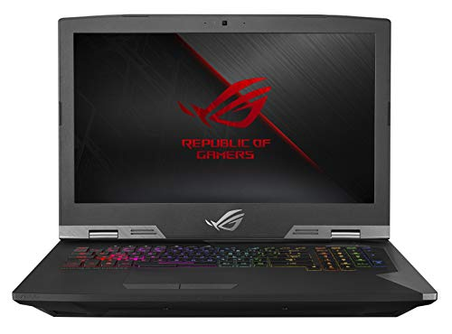 "ROG G703GX Desktop Replacement Gaming Laptop, GeForce RTX 2080, Intel Core i7-8750H Processor, 17.3"" Full HD 144Hz 3ms G-SYNC, 16GB DDR4, 512GB PCIe SSD + 1TB SSHD, RGB, Windows 10 Pro - G703GX-XS71"