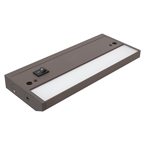 American Lighting LED Complete 2 Under Cabinet Fixture, 120-Volt Dimmable Warm White, 8-inch, Dark Bronze