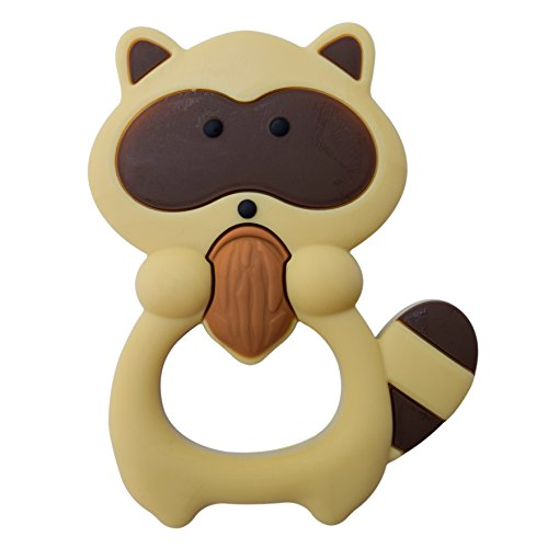 Brown Chewable - Chewable Sensory Fidget Toy by Munchables (Brown Raccoon)