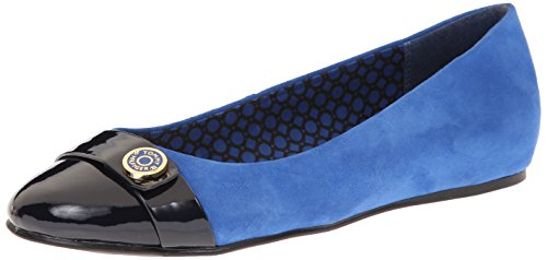 Tommy Hilfiger Womens Landry Flat Boston Blue / Marine
