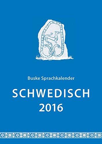 Sprachkalender Schwedisch 2016