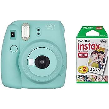 Amazon.com : Fujifilm Instax Mini 8+ Instant Film Camera (Mint ...