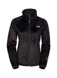 North Face Women\'s Osito 2 Classic Plush Fleece Jacket-Medium-Ribbon
