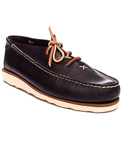 Psyberia Mens Achilles Low Leather Shoes Black 99PM0PQjHS