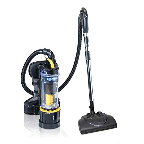 2019 Prolux 2.0 Commercial Bagless Backpack Vacuum Commercial Power Nozzle Kit