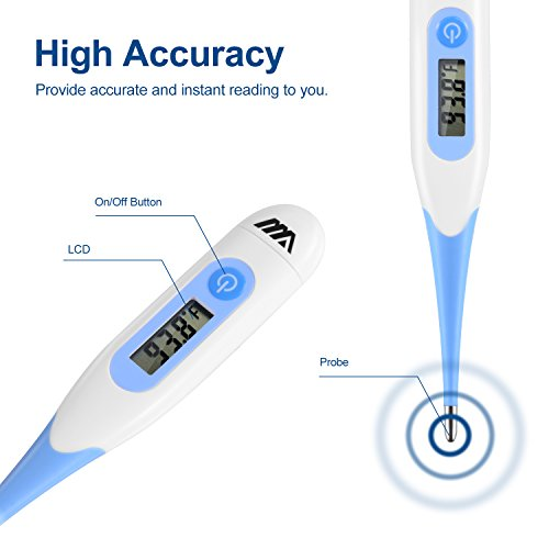 how to read a basal thermometer