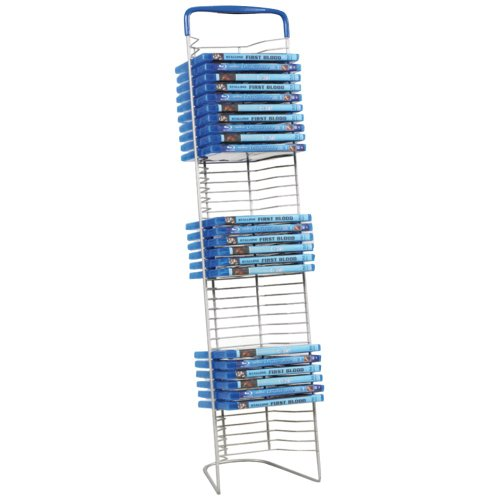 Wire Dvd Rack - 9