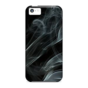 Ultra Slim Fit Hard Williamwtow Case Cover Specially Made For Iphone 5c- Smoke