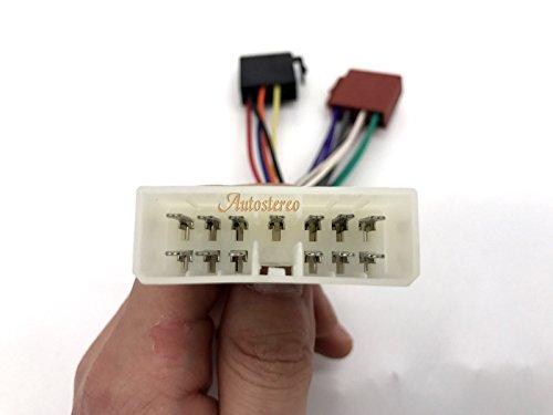 autostereo 12/ Cable de cableado de audio para coche /037/est/ándar iso adaptador de radio de arn/és para Daewoo Nexia Espero 1995/
