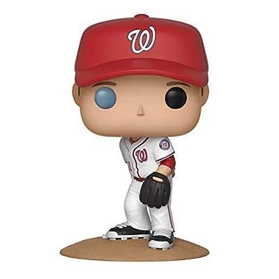 Funko POP!: Major League Baseball: Max Scherzer Collectible Figure, Multicolor: Funko Pop!:: Toys & Games