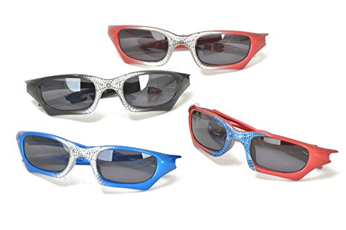 Spider-Man Super Hero Style Kids Biking Cycling Sunglasses for Boys by Colorful Items (Image #1)