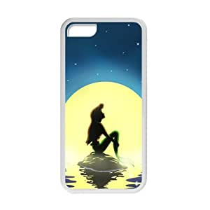 Ariel The Little Mermaid Cell Phone Case For Iphone 6 Plus 5.5 Inch Cover