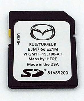 Mazda Connect 2019/2020 BJM7 66 EZ1M - Tarjeta SD para Mazda